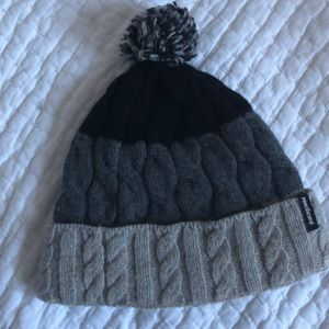 Patagonia wool cable knit hat